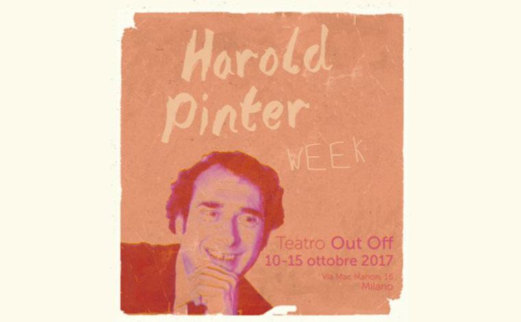 Milano, Harold Pinter arriva in città