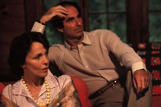 Claire Bloom. Philip Roth