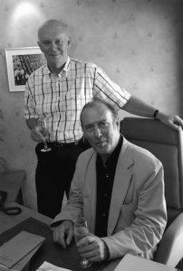 Alan Ayckbourn + Harold Pinter
