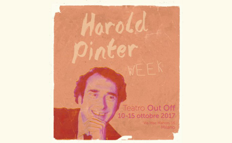 Milan, Harold Pinter is coming to town